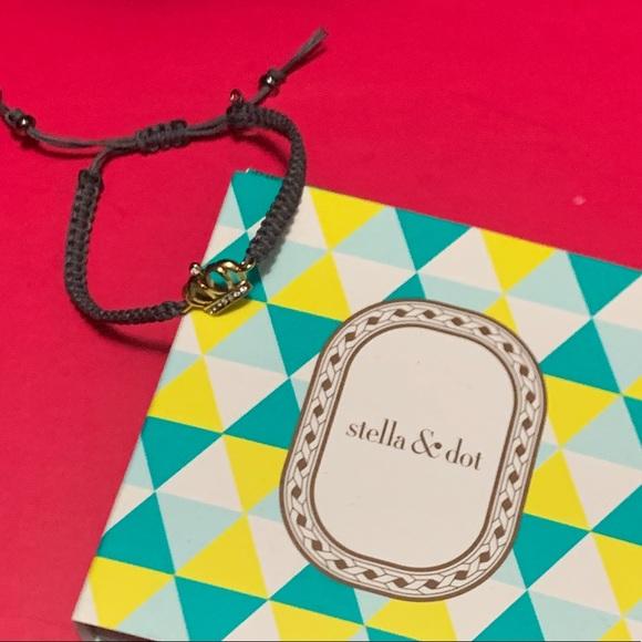 Stella & Dot Elizabeth Crown bracelet SOLD